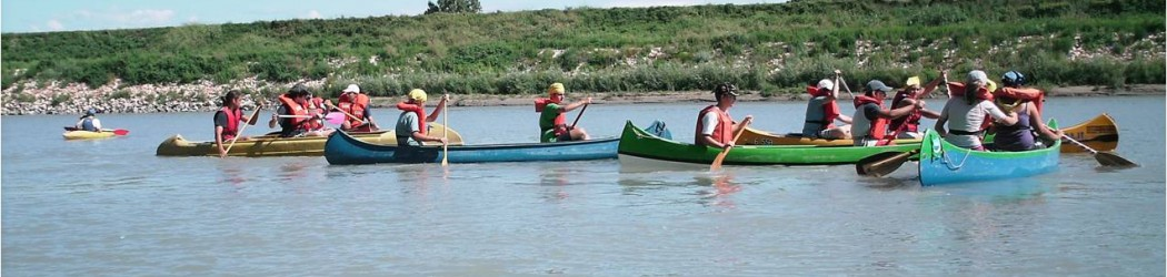 """Campo Competenza EG """"Survivor. Canoa/kayak – Vita trappeur – Explo fluviale"""" Base Adige Legnago 28 Giugno-2 Luglio 2018"""